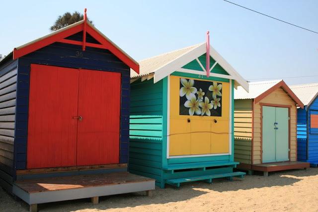 Beach Huts Brighton Beach Melbourne Australia - © CKoenig