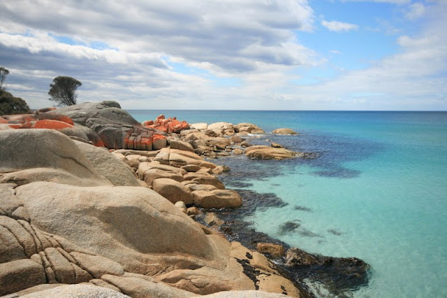 Binalong Bay Bay of Fires Tasmania Australia - © CKoenig