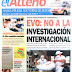 El Alteño es el unico periodico de la ciudad de El Alto.