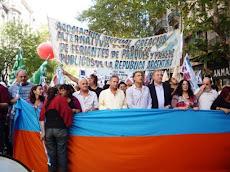 Con el Frente progresista popular 24 de marzo 2010
