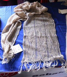 Nettle fiber items: Wild Nettle shawls,scarfs, bags, caps etc