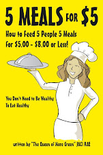 Jaci's New Book 5 Meals for $5 Available at Borders, Barnesandnoble.com or Pennymeals.com