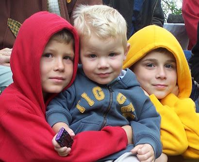 Izaak, Elijah & Ty 'Bear'
