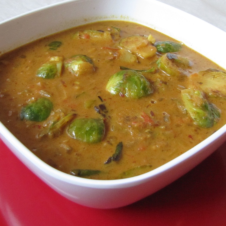 Brussel Sprouts Curry