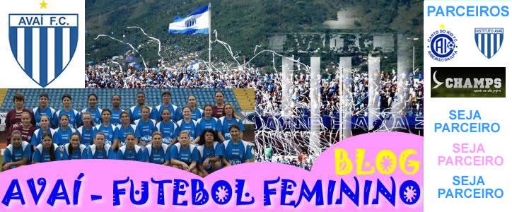 AVAÍ/CANTO DO RIO - FUTEBOL FEMININO