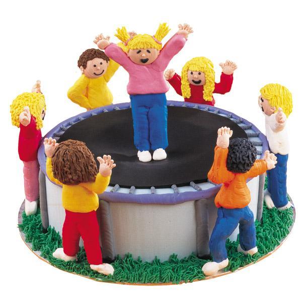 Boy Party On Pinterest Trampoline Cake Superhero Cake