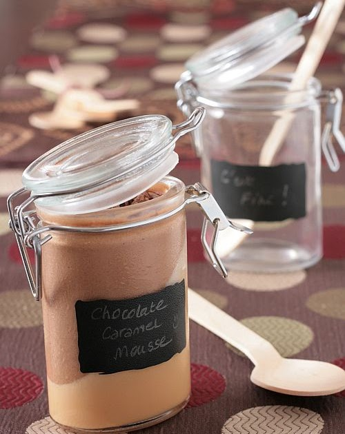 Tartelette: Chocolate Caramel Mousse - Date Night
