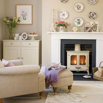 Site Blogspot  Country Cottage Living Room Furniture on Uma Sala Como Essa Para Passar O Inverno  Tomando Um Chocolate Quente