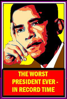 obama the worst president ever in record time