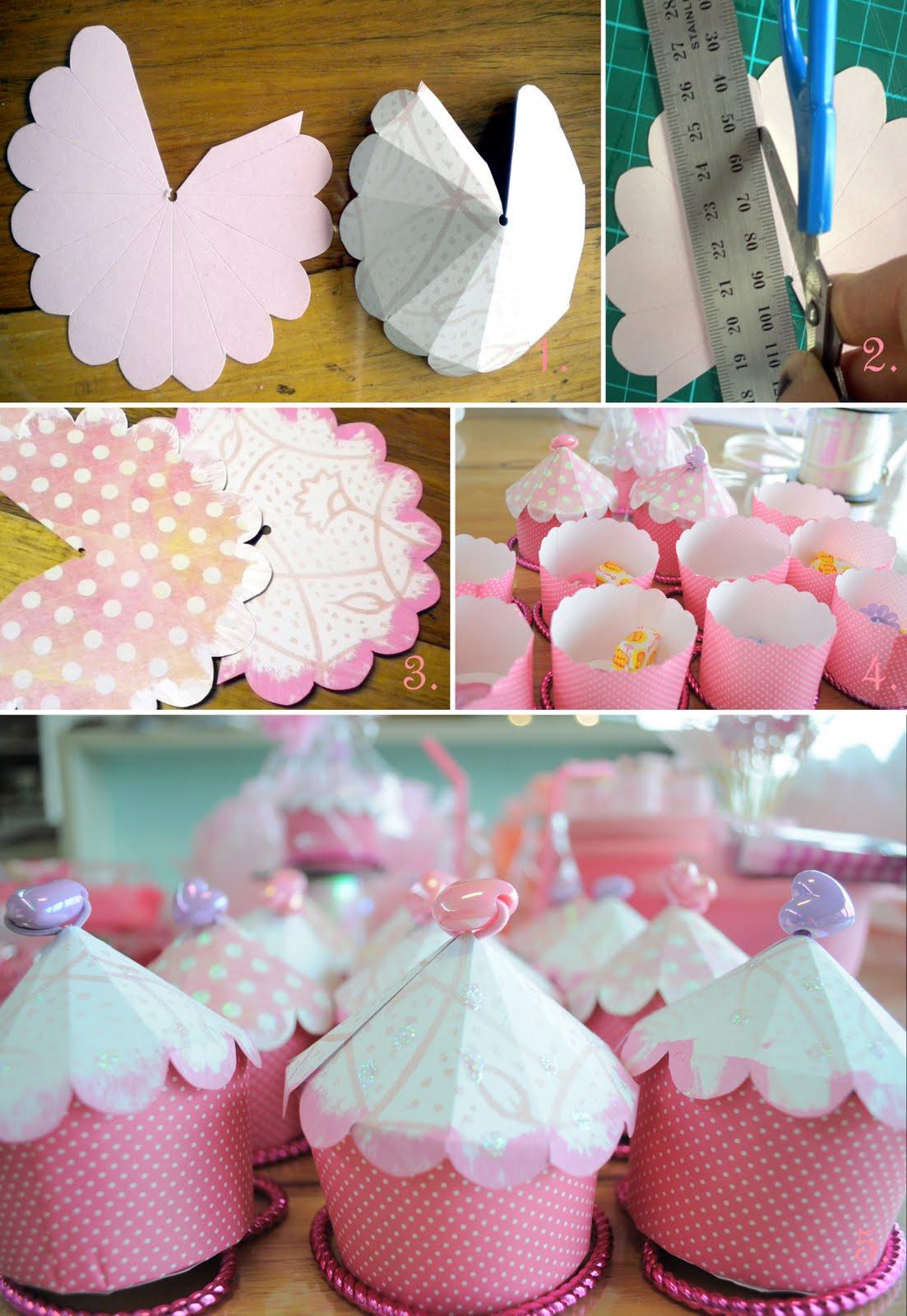 Cup Cake Box Tutorial & Myrtle u0026 Grace: Cup Cake Box Tutorial
