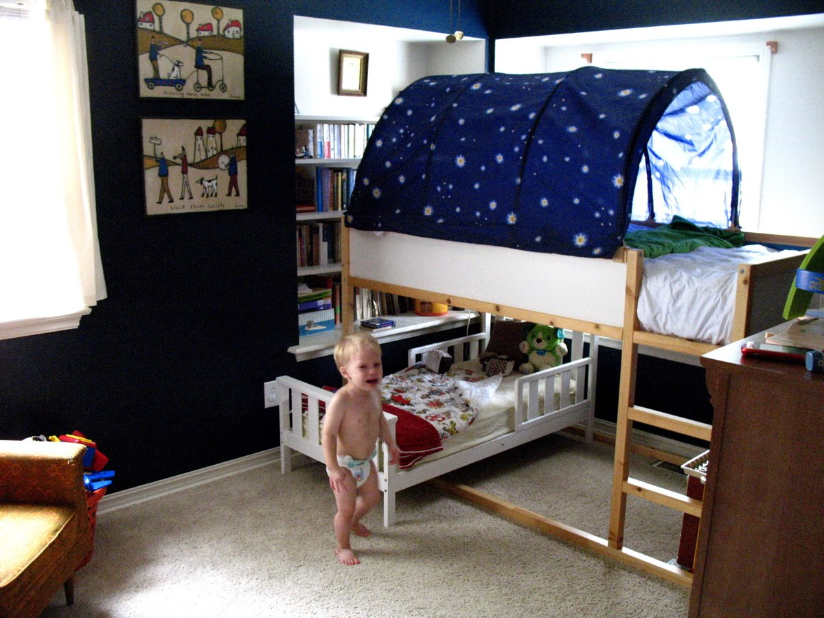 Moms are for everyone lofty goals - Ikea bunk bed room ideas ...