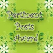 Pertinent Posts Award