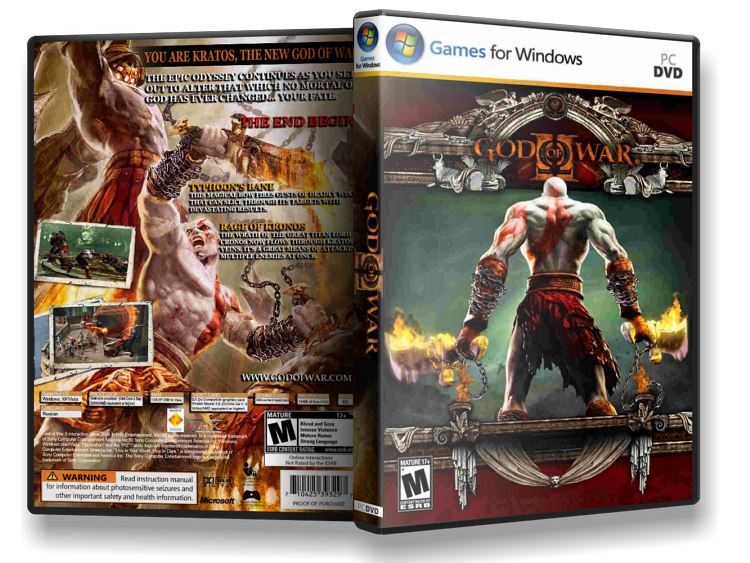 God Of War 2 (100% working) || 196 MB