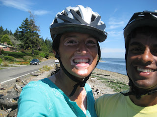 biking in bainbridge, wa