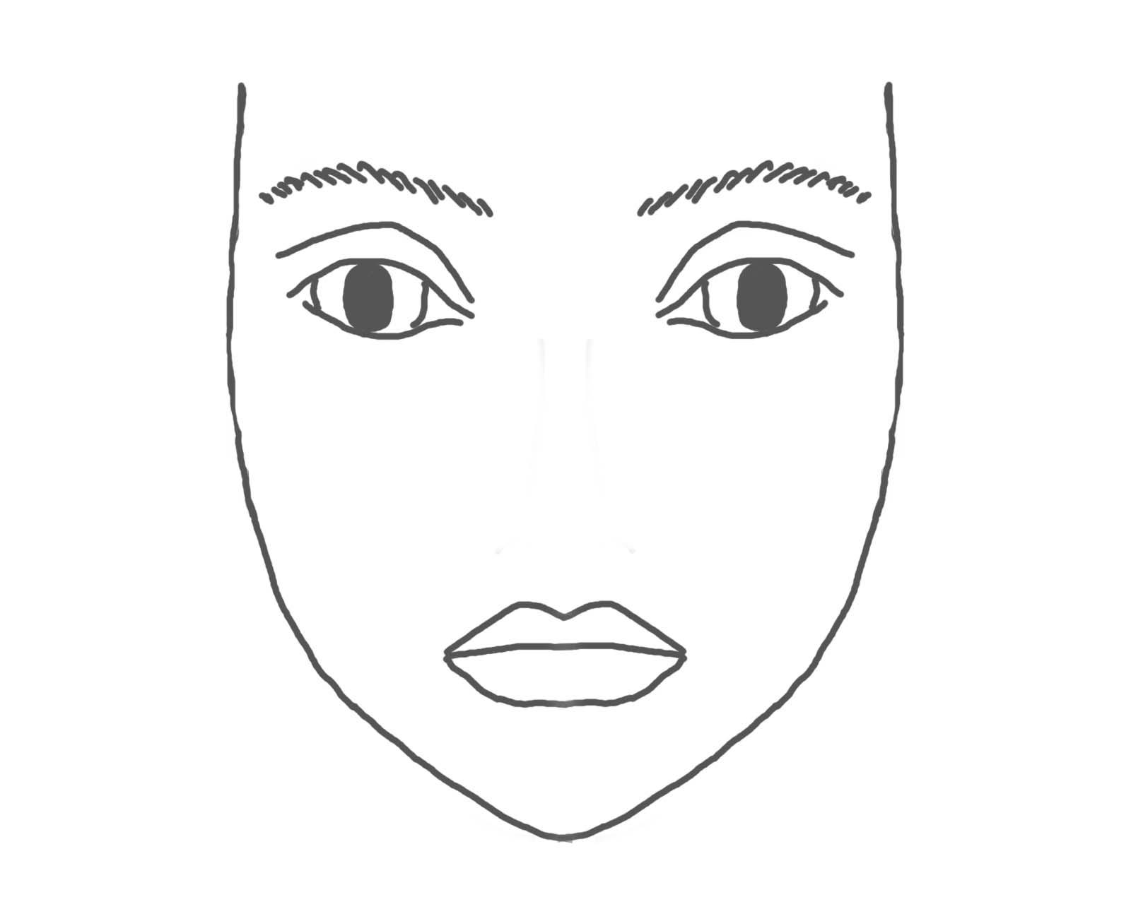 Donkey Mask Template