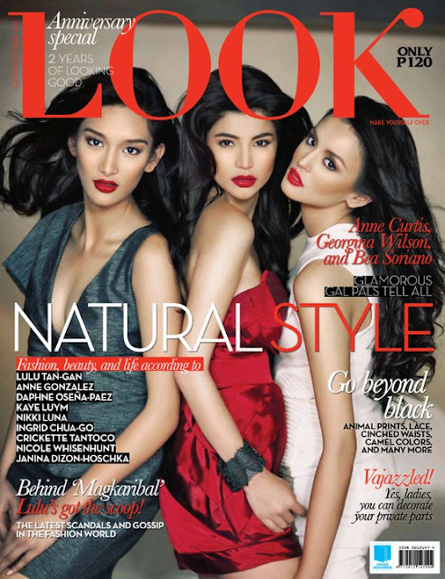 Anne Curtis, Georgina Wilson and Bea Soriano for Look Magazine