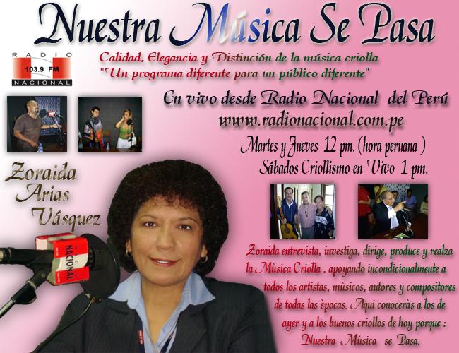 QUE VIVA LA MUSICA PERUANA