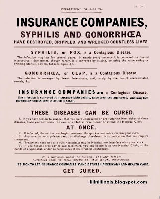 Insurance companies and other diseases | illinillinois.blogspot.com
