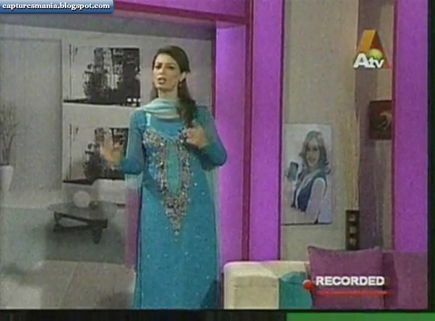 Farah Hussain Ptv host