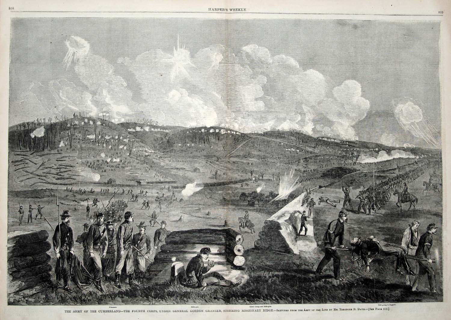 battle of chattanooga The battle for chattanooga was over, and union forces controlled the town that general sherman would use as his supply base for his march to atlanta and the sea the next spring flag of the 41st regiment, mississippi infantry.