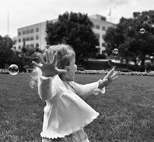 I'm  chasing bubbles....