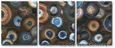 Fossil Texture Oil Painting