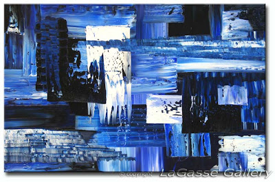 Textured Oil Painting - Abstract Art