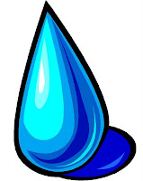drop of water, tubig