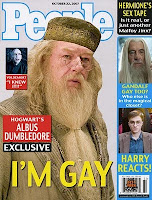 albus dumbledore is gay