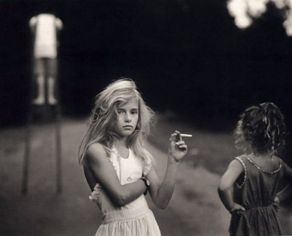 Sally Mann Little Girl Smoking