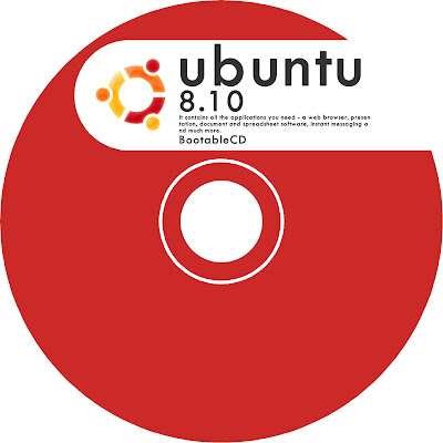 ubuntu cd lebel レーベル印刷 赤