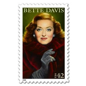 Bette Davis Legends of Hollywood pane of 20 x 42 cent us U.S. Postage Stamps