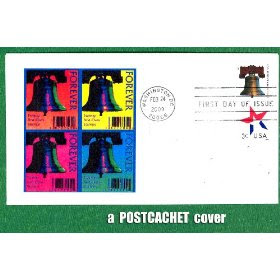 PostCachet Liberty Bell Forever Stamp First Day Cover, Single Stamp