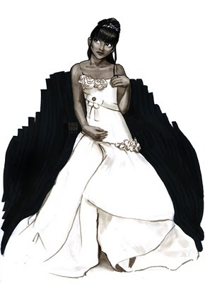 bride wedding illustration
