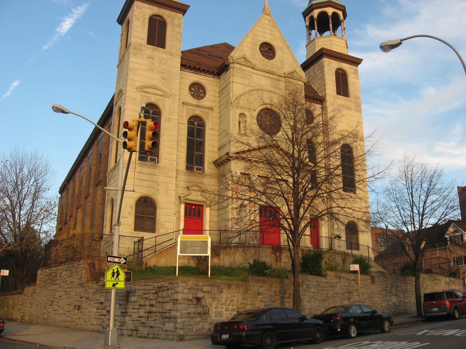 bronx catholic st augustine franklin avenue and east 167 st. Black Bedroom Furniture Sets. Home Design Ideas