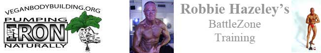 Robbie Hazeley's bodybuilding
