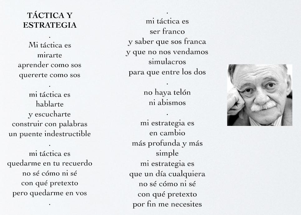 Frases y textos de Mario Benedetti