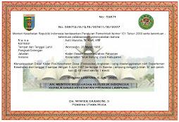 sertifikat (kode:024)
