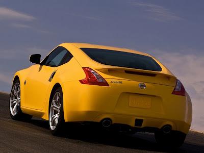 2009 Nissan 370Z rear