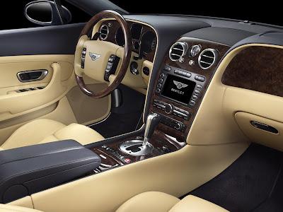 2009 Bentley Continental GT interior