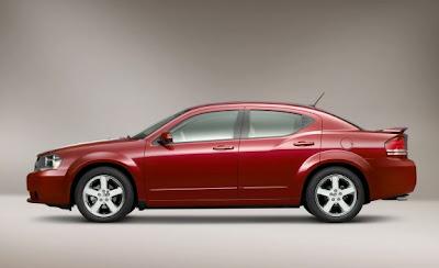2009 Dodge Avenger side