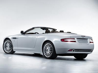 2009 Aston Martin DB9 Volante rear