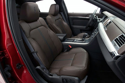 2010 Lincoln MKS EcoBoost interior