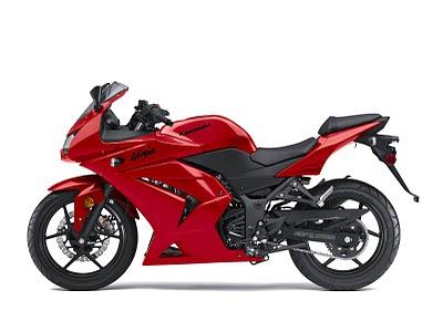 Kawasaki 250cc Ninja Bike. Kawasaki Ninja 250R Tète de