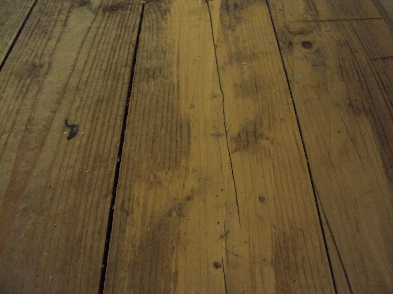 gammalt trägolv