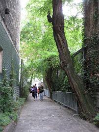 A Parisian Alleyway