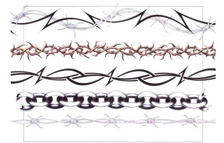 TATTO: Reflect Your Bondage Through Barbed Wire Tattoos