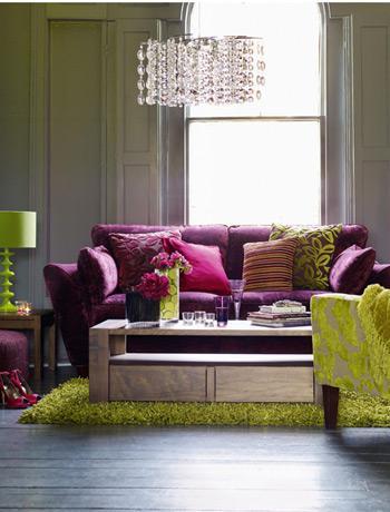 Dekorasyon B Lg Ler Evinizi G Ncellemek I In 10 Ipucu: purple brown living room