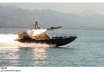 Irã anuncia a produção do míssil de curto alcance Nasr 1