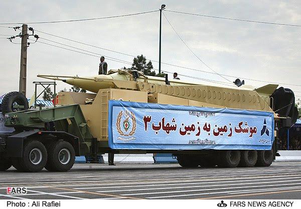 """حقائق حول برنامج الصواريخ الايراني """"السلسلة الحصريه"""" - صفحة 2 Shahab+3"""